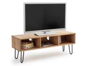 Έπιπλο τηλεόρασης από μασίφ ξύλο δρυς, ADZA