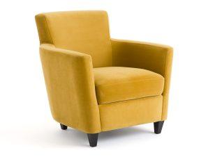 Πολυθρόνα με βελούδινη ταπετσαρία, Mathesson