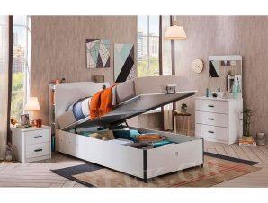 Παιδικό κρεβάτι με αποθηκευτικό χώρο WH-1705 USB CHARGING